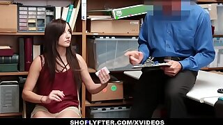 Shoplyfter - Hot Teen Recorded Fucking Officer