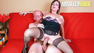CastingAllaItaliana - Rough Anal In The Kitchen With Asia X
