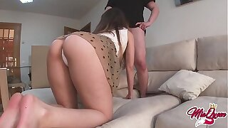 She fucks her best friend to be creampied When her boyfriend is not at home