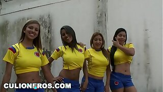 CULIONEROS - Sexy Latina Soccer Players with Big Asses (bac8732)